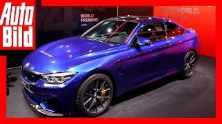 BMW M4 CS (Auto China 2017) Details/Erklärung