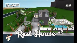 ROBLOX │Bloxburg - [SpeedBuild] Rest House #2
