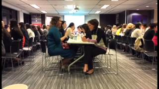 TWF Mentoring Programme 2014-2015 Speed Dating Icebreaker