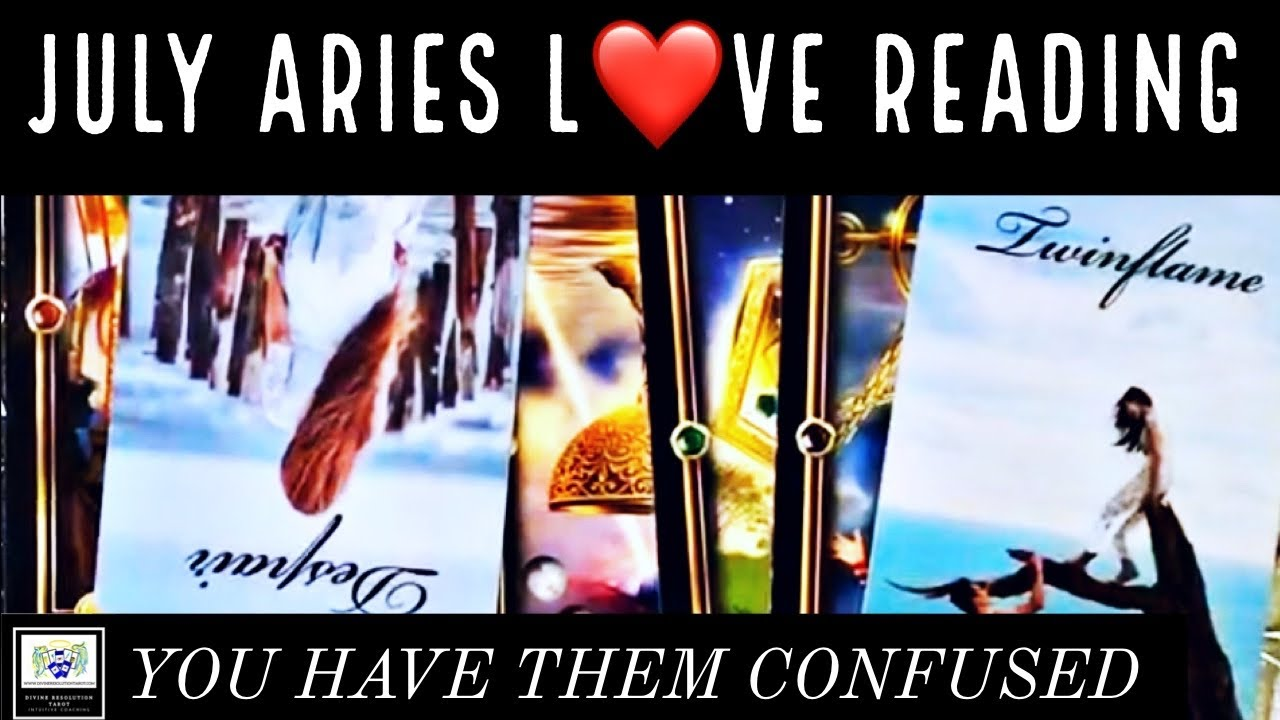 ARIES ♈️~YOU ARE GOING COLD ON THEM~JULY LOVE 💗 TAROT READING 🔮 ~DIVINE RESOLUTION TAROT