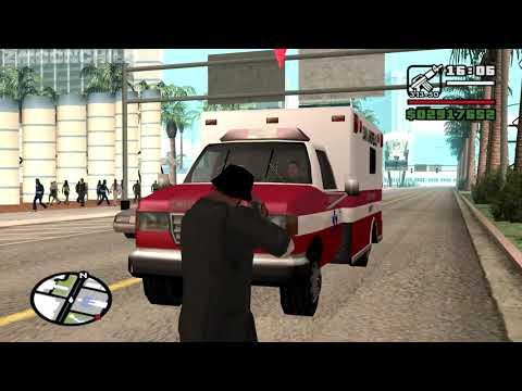 Acquiring The Mafia Ambulance Without Ramming It - Intensive Care - Casino Mission 5-GTA San Andreas