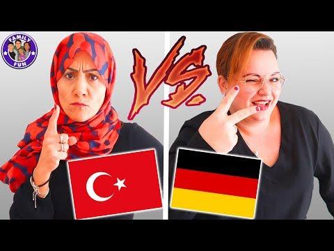 Download Youtube: DEUTSCHE VS AUSLÄNDISCHE Mütter - Türkisch vs Deutsch -  Family Fun