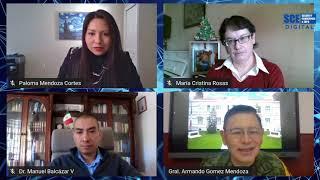 Perspectivas sobre el futuro de la seguridad nacional de México | SCE TALKS