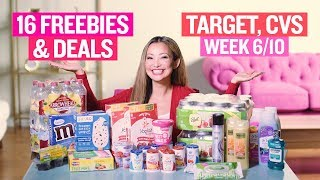 ★ 16 BEST Target & CVS Coupon DEALS & FREEBIES (Week 6/10 – 6/16)