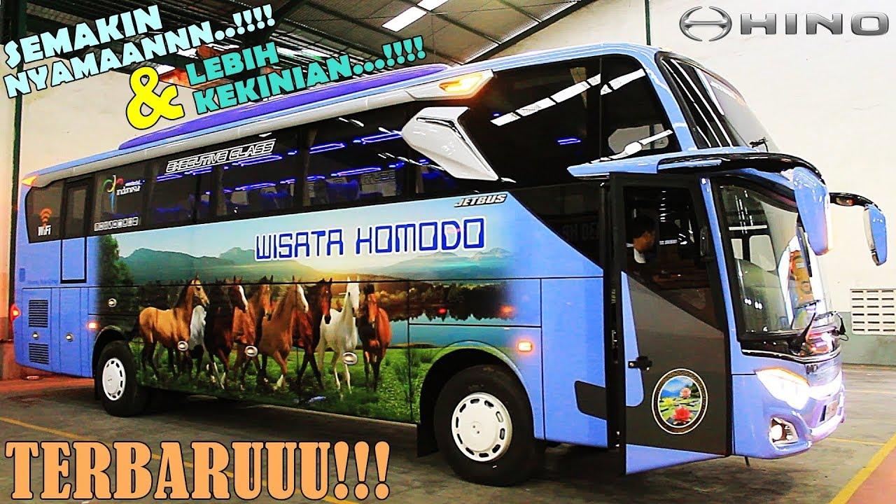 Gaya & Semangat Baru!!! Bis Wisata Komodo Jetbus 9+ SHD Unit Terbaru