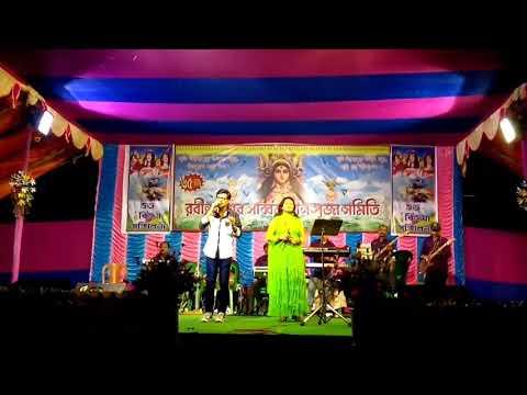 Dr. Dola Sarkar & Ujjal Mukherjee with ROCKLINE Musical Group.(3)