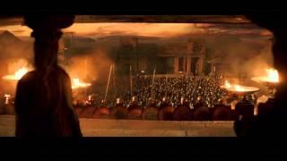 Hercules movie - last scene  Dwayne Johnson, Ian McShane