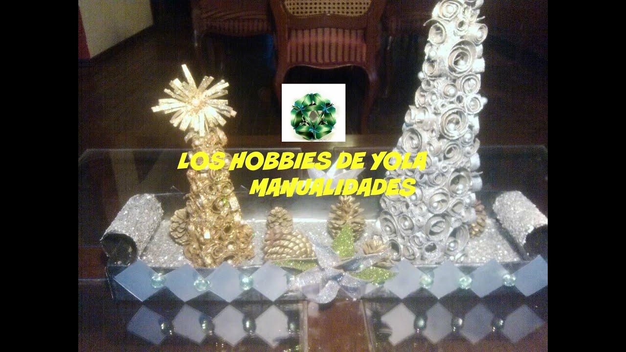 Centro de mesa navide o los hobbies de yola youtube - Youtube centros de mesa navidenos ...