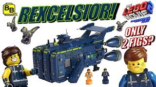ONLY 2 MINIFIGURES!! LEGO REXCELSIOR 70839 SET REVEALED!