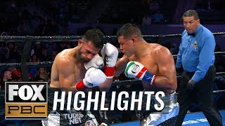 Abel Ramos out punches Francisco Santana to secure unanimous decision | HIGHLIGHTS | PBC ON FOX