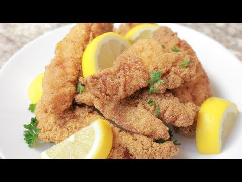 DEEP FRIED CATFISH: Easy Recipe