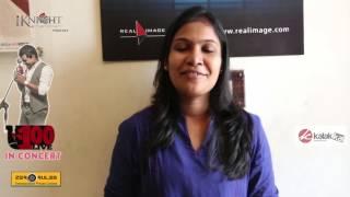 Singer Priya Himesh Speaks at U1 100 LIVE in Concert