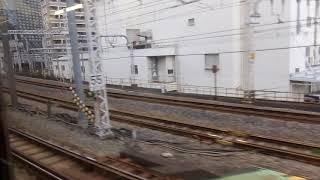 JR東日本E217系MT68 側面展望 東京→新川崎(横須賀線) クラY-19編成