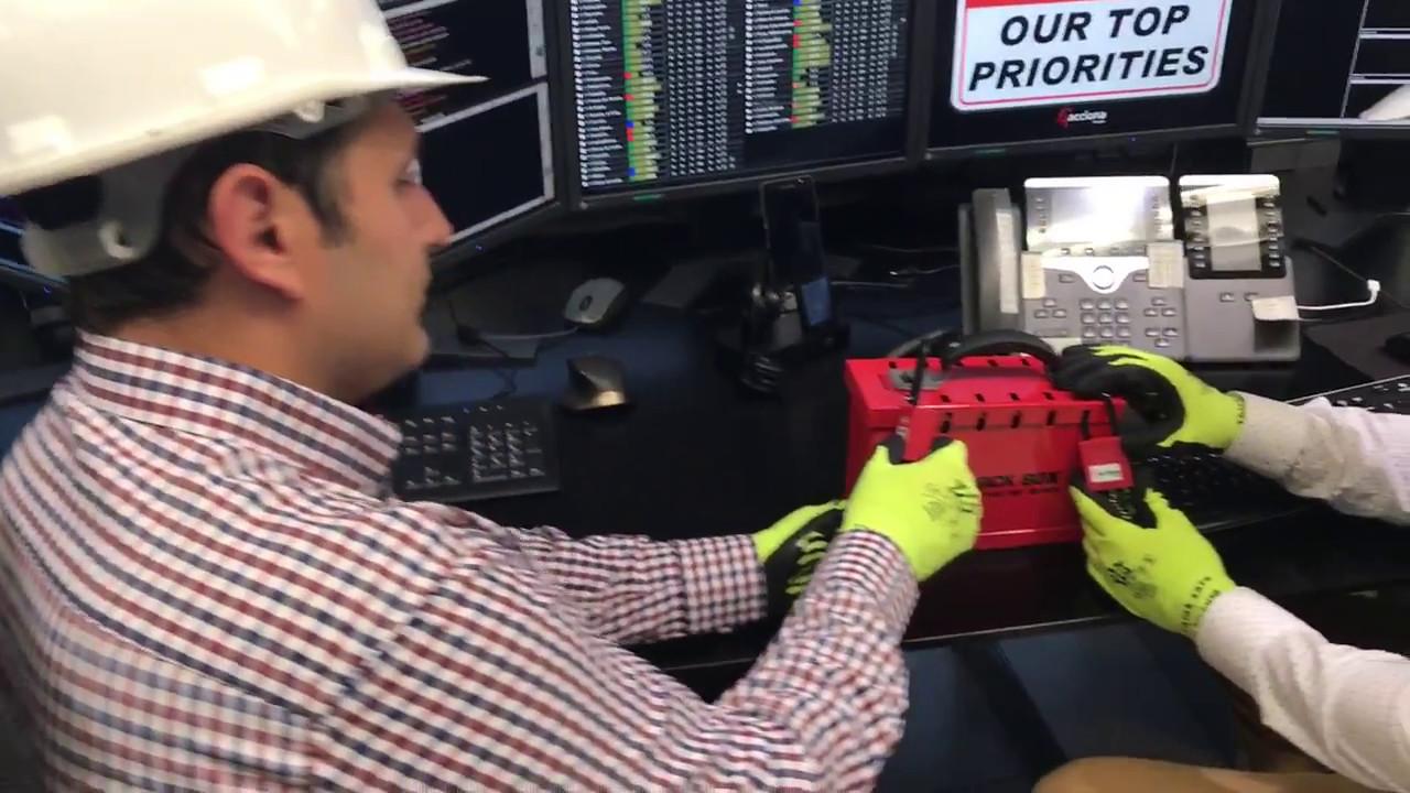 """Los empleados del CECOER de ACCIONA se suman al 'Mannequin Challenge"""""""