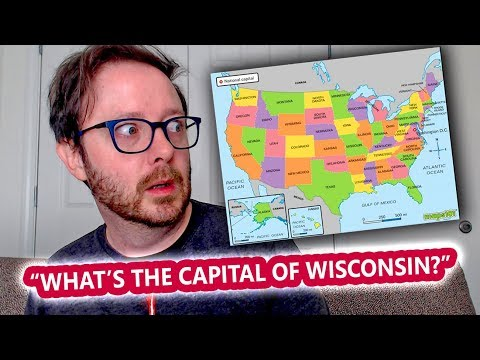 Naming The Fifty U.S. State Capitals
