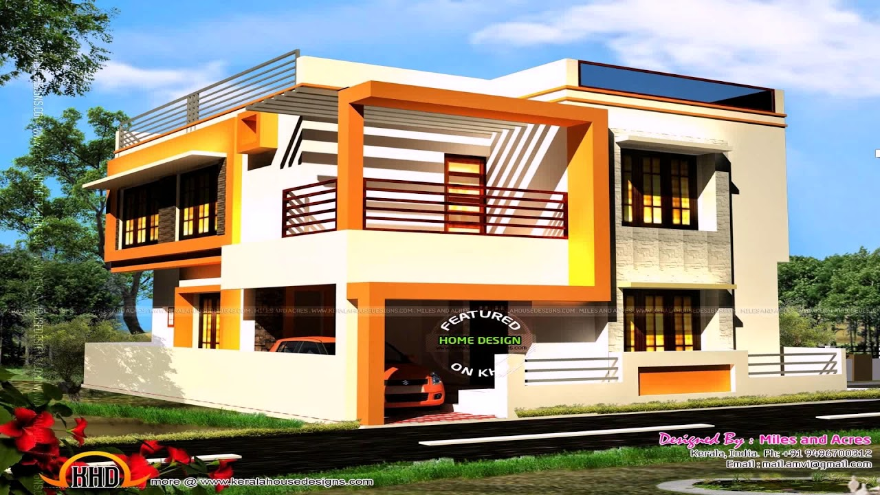 South Indian Village House Designs Youtube