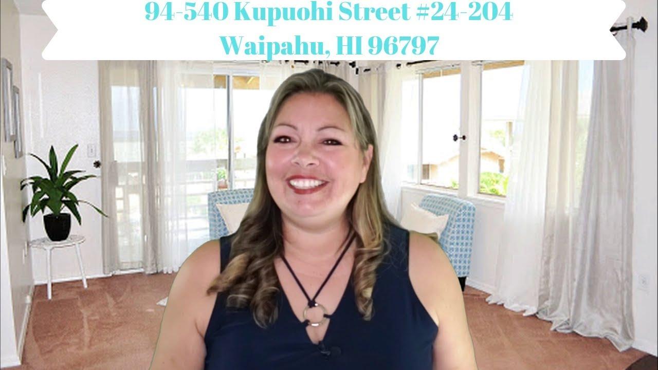 Home For Sale in Oahu, Hawaii | 94-540 Kupuohi Street #24-204 Waipahu, HI 96797