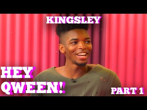 KINGSLEY on HEY QWEEN! with Jonny McGovern Part 1