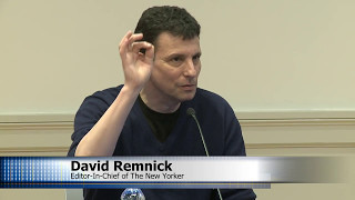 Delacorte Lecture: David Remnick, Editor-in-Chief of The New Yorker