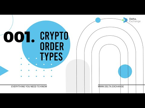 Crypto Order Types Explained Within 120 Seconds