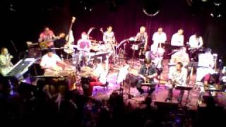 Nettai Tropical Jazz Big Band live at Blue Note Nagoya Japan 2010. ...