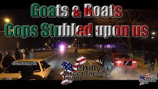 Real Winter Street Racing Goats and Boats!