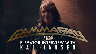 Gamma Ray Kai Hansen Elevator Interview - THE BEST (OF) - OUT January 30th 2015