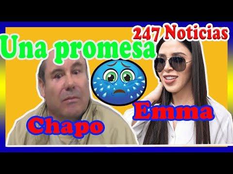 ¡ HACE UNAS HORAS ! Emma Coronel hizo una promesa final a El Chapo.