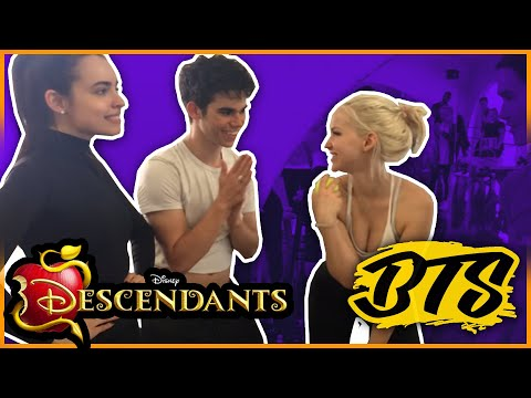 BTS Descendants Cast On Dancing W The Stars.