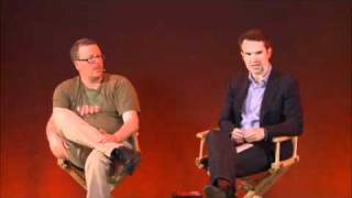 Jimmy Carr &Frankie Boyle at the Apple Store part 3 of 4.avi