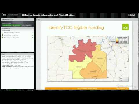 Webinar: DIY Tools and Strategies for Communities Google Fiber is NOT Calling