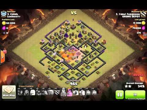 Harpo Clash of Clans War 197 Luminosity
