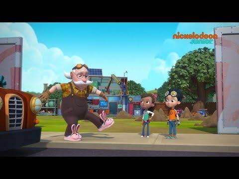 Rusty Rivets : inventeur en herbe | Le super citoyen | NICKELODEON JUNIOR