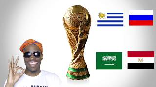 Uruguay vs. Russia - Egypt vs. Saudi Arabia Pre Match Analysis | World Cup 2018 Group A