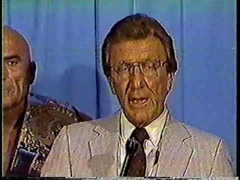 Memphis Arena TV October 19, 1985