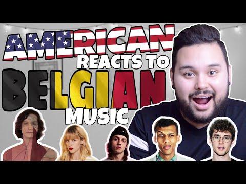 American REACTS // Belgian Music