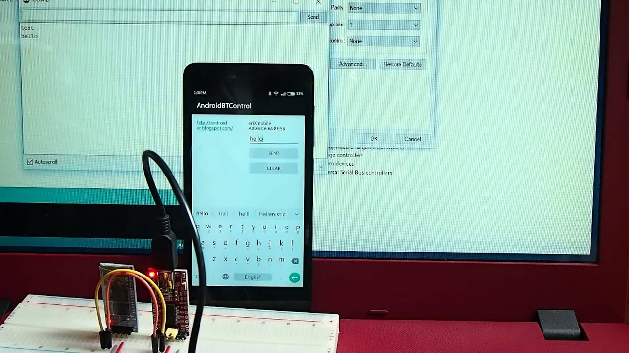 Android Bluetooth connect PC (running Windows10) via HC-06 BT Module and  FTDI USB-to-Serial adapter