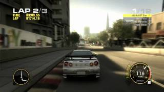 Race Driver GRID Skyline Maxed Out Gameplay 720p HD PC