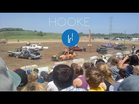 Demolition Derby in 3D Audio, Lake County Fair Illinois