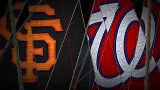 4/17/19: Nats hammer 4 homers in win over Giants