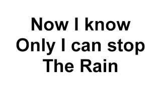 DMX - The Rain instrumental (with SFX)
