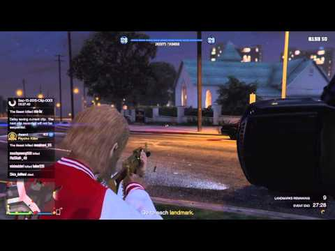 gta 5 how to play free mode events
