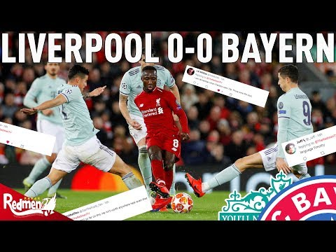 Liverpool v Bayern Munich 0-0 | #LFC Fan Reactions