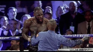 BREAKING NEWS!! DEONTAY WILDER SUSPENDED BY THE NEVADA ATHLETIC COMMISSION