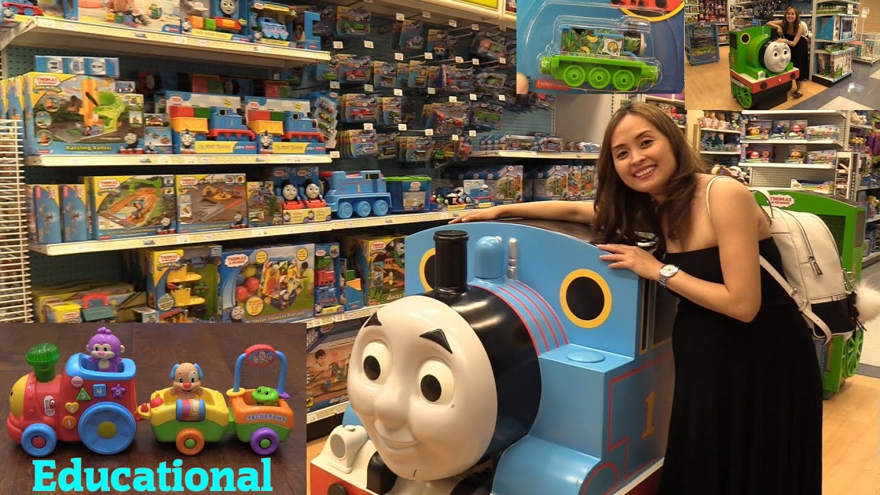 Thomas the Tank Engine and Friends, Fisher-Price Educational Toy ...