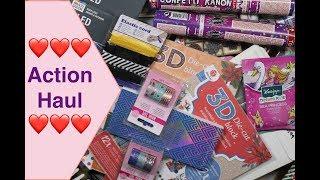 Action Haul deutsch Washi Tape 3d Blöcke Kosmetik Weihnachtssachen Scrapbook basteln mit Papier