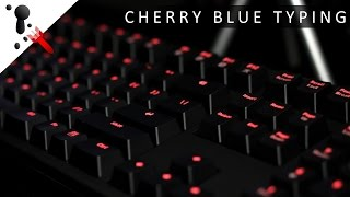 5 minutes of fast typing on Cherry MX Blue Switches (clicky)