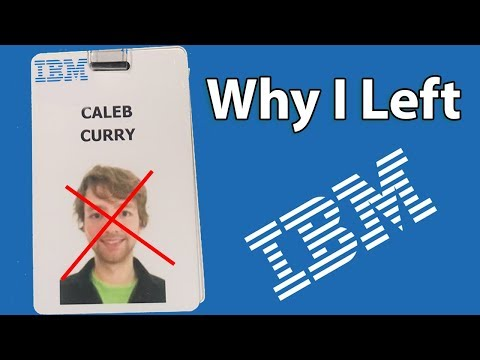 Why I Left My Job At IBM