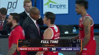 Perth Wildcats vs. Adelaide 36ers - Game Highlights