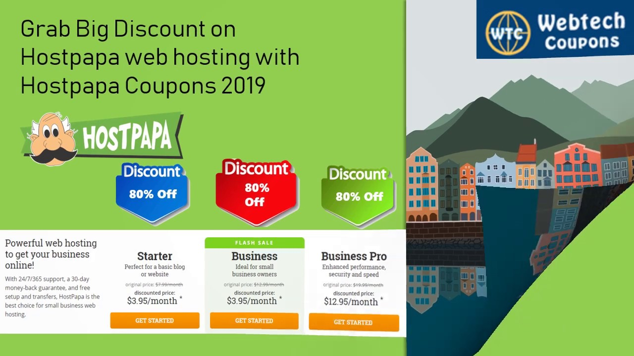 HostPapa Promo Codes 2019   60% HostPapa Discount Coupons, Offer